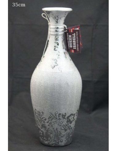 Keramická váza s kvetmi V79636