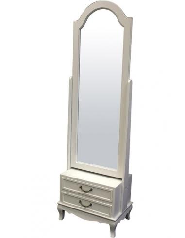 Zrkadlo so skrinkou a zásuvkami