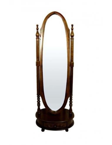 Oválne zrkadlo polohovateľné