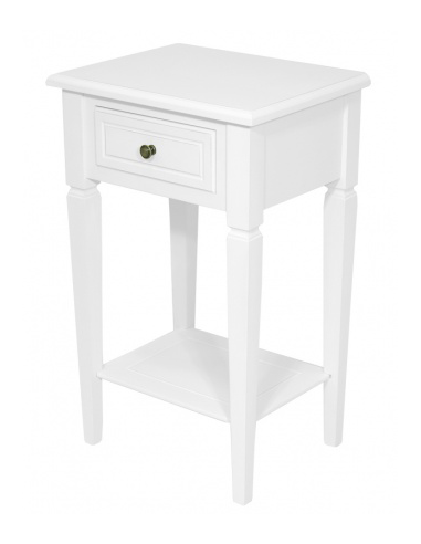 Stolík biely S60761