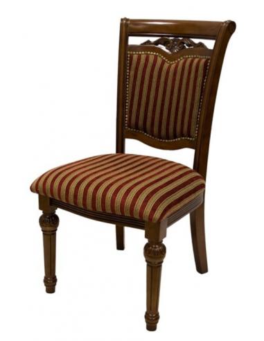 Stolička s pásmi