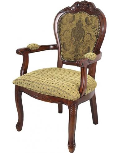Luxusná stolička s opierkami