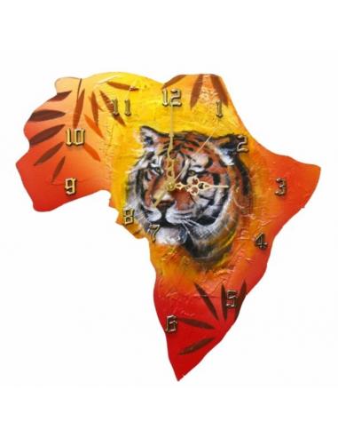 Hodiny s motívom Afriky s tigrom HG00830