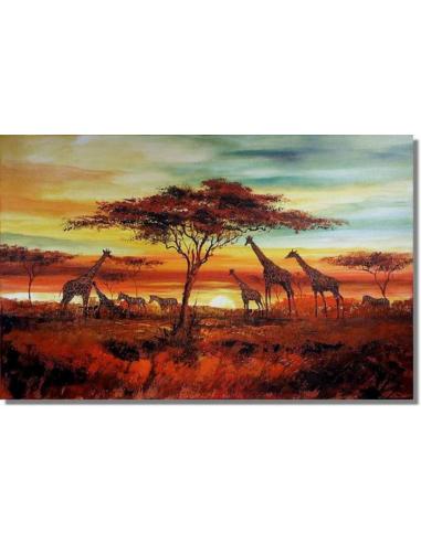 Obraz - Africká savana