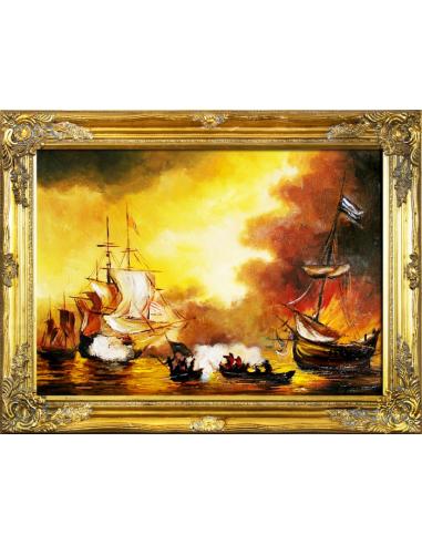 Obraz - Námorná bitka
