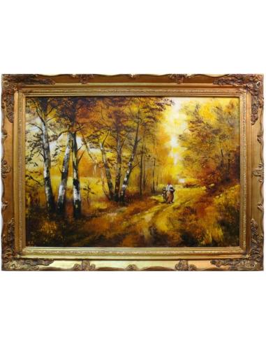 Obraz - Prechádzka brezovým hájom