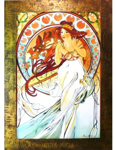 Obraz Alfons Mucha - Hudba