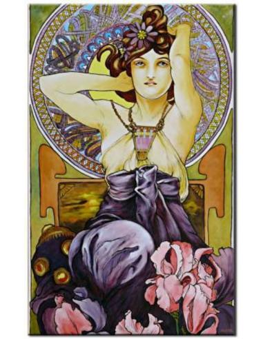 Obraz Alfons Mucha - Ametyst