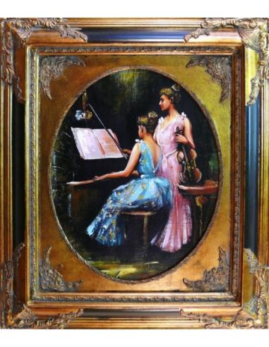Obraz - Hodina klavíra