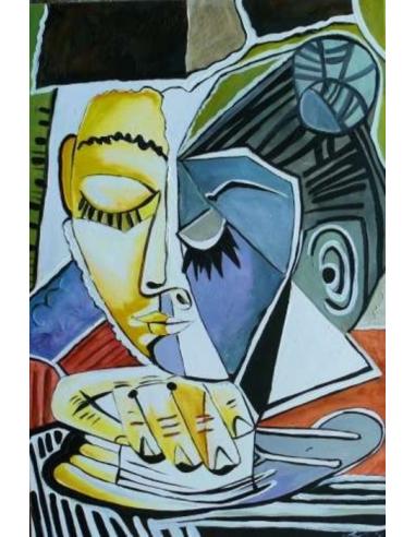 Obraz Pablo Picasso - Hlava ženy