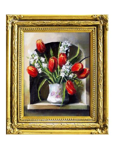 Obraz - Kytica z tulipánov a hyacintov