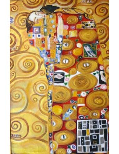 Obraz Gustav Klimt - Objatie