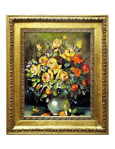 Obraz - Veľká kytica žltých ruží