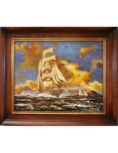 Obraz - Plavba vlniacim sa morom