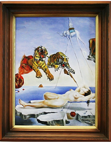 Obraz Salvador Dalí - Sen vyvolaný...