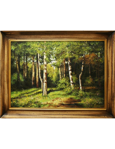 Obraz Ivan Ivanovič Šiškin - Zákutie...