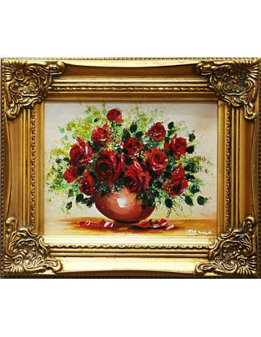 Obraz - Pekná kytica červených ruží