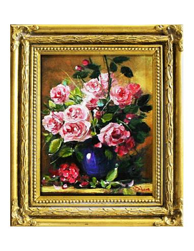 Obraz - Ružové ruže vo váze