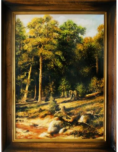 Obraz Ivan Ivanovič Šiškin -...
