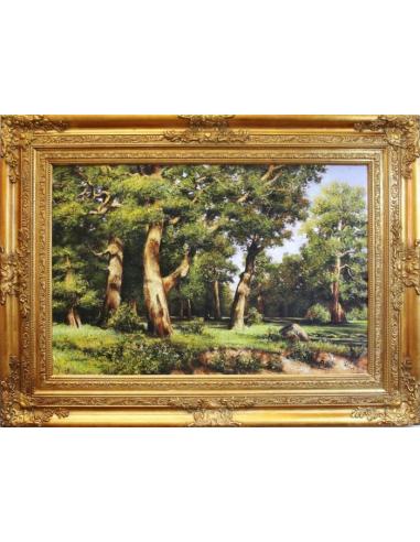 Obraz Ivan Ivanovič Šiškin - Dubový háj