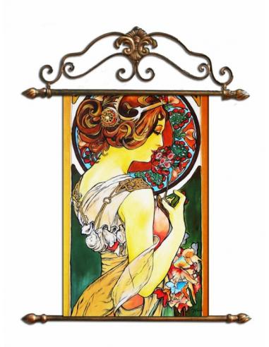 Obraz Alfons Mucha - Prvosienka