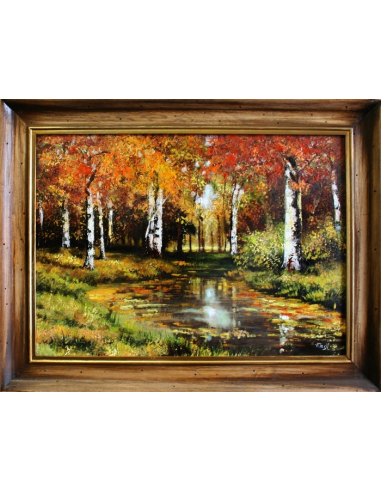 Obraz Ivan Ivanovič Šiškin - Jesenné...