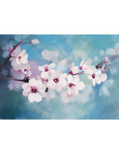 Obraz - Kvety mandľovníka