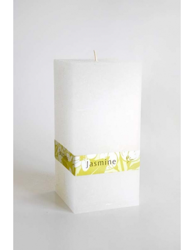 Kvádrová sviečka jazmínová