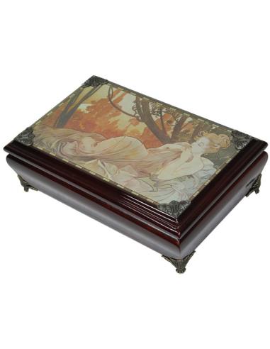 Šperkovnica Alfons Mucha S80171