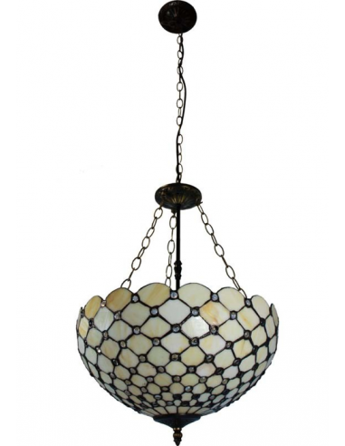 Vitrážna lampa závesná L83955