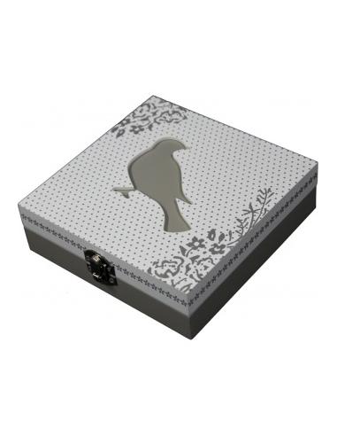 Krabička s vtáčikom K86371