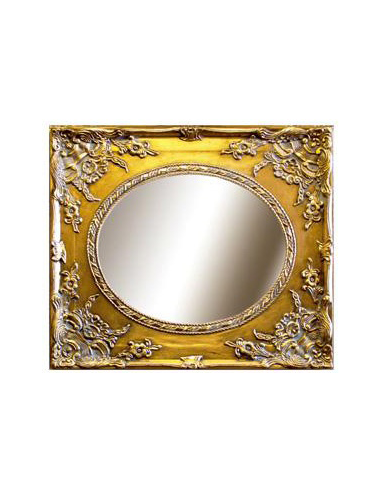 Zrkadlo v zlatistom ráme Z82407