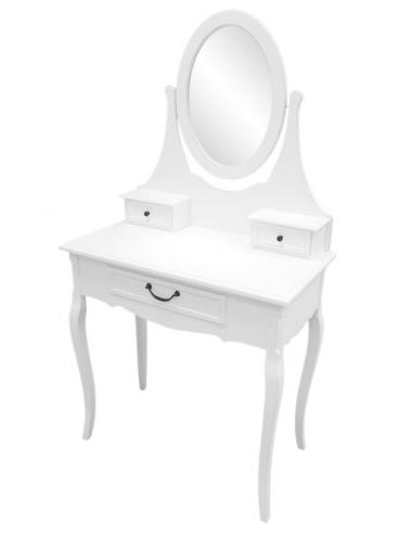 Toaletný stolík biely S72311